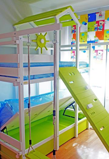 Photo gallery of fun furniture for kids play 39 n house - Literas dobles abatibles ...